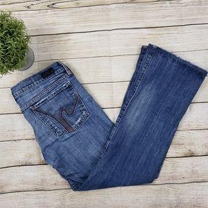 COH Ricrac #108 low rise bootcut jeans sz 30 short